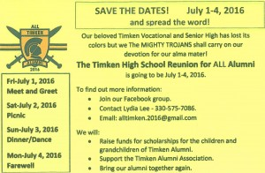 All- Timken Event