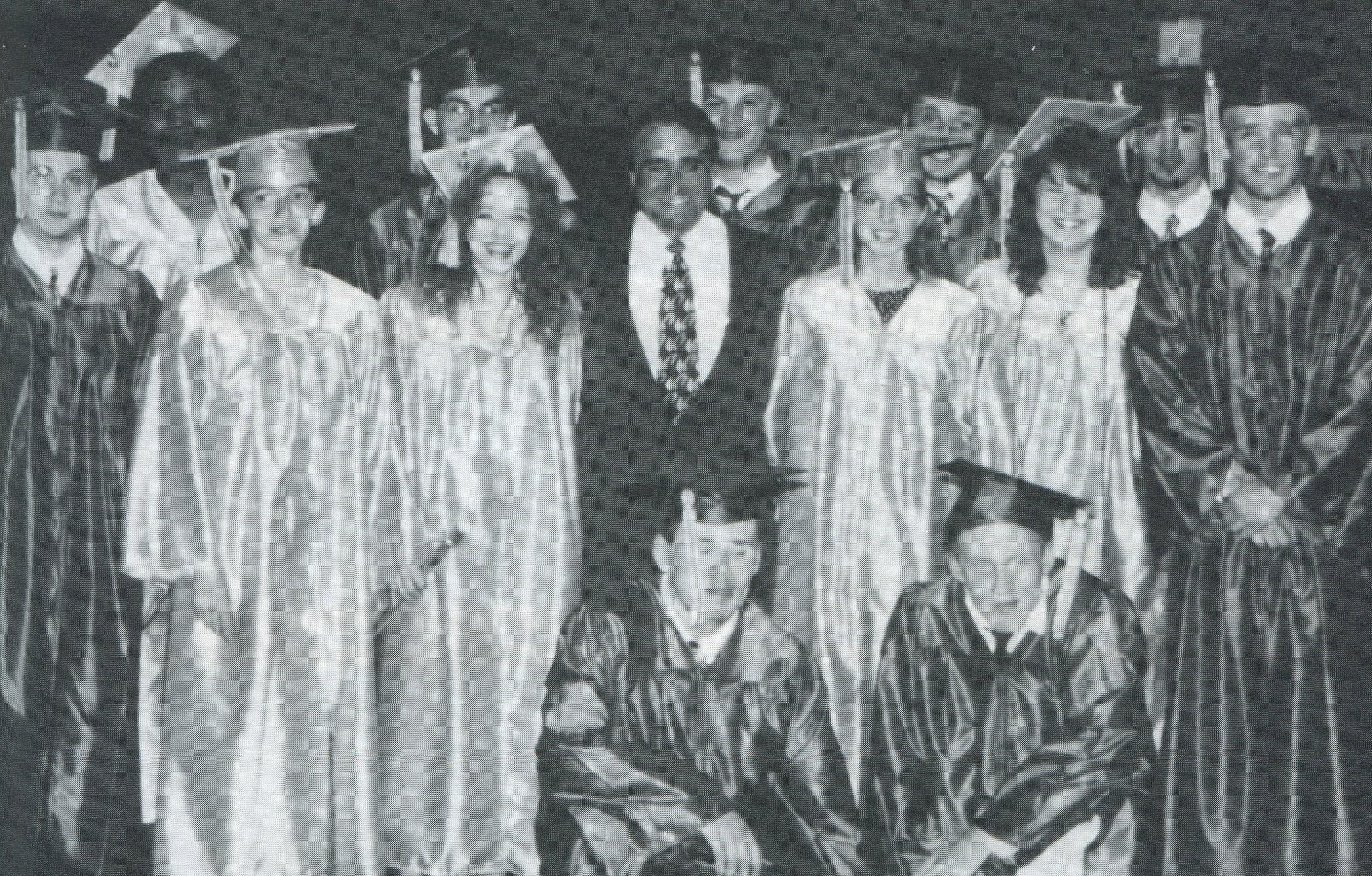 1997 yearbook photo